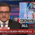 Chris Hayes Tears Into Tucker Carlson for Peddling 'Coronavirus Trutherism'