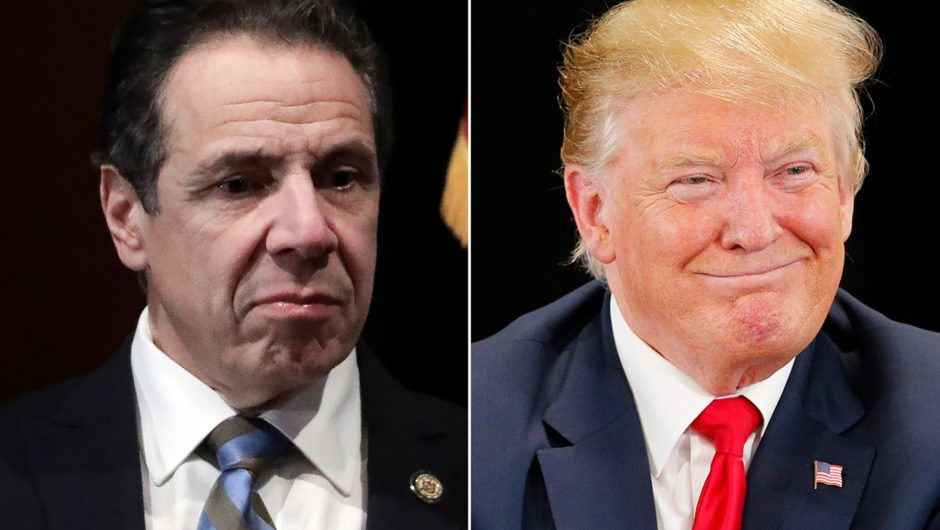 Trump wants Cuomo to be more 'gracious' amid coronavirus aid