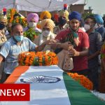 Funerals held for Indian soldiers killed in China Ladakh clash