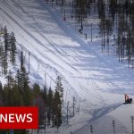 Coronavirus: The ski resort saving snow for next season – BBC News
