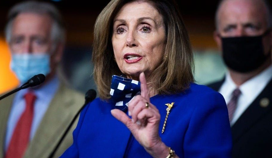 Pelosi says Congress 'can't go home' until a new coronavirus relief package is passed