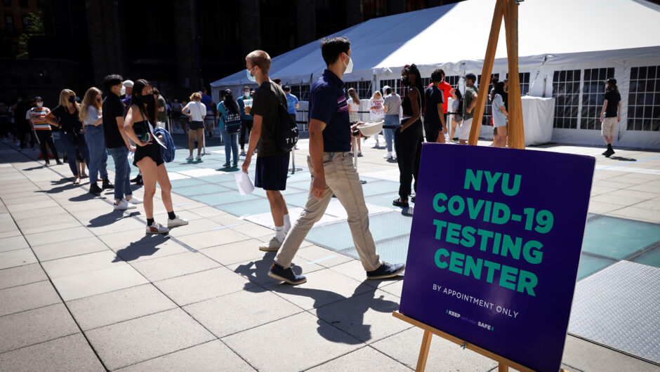 New York's public colleges see enrollment dip amid COVID-19