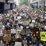 Thousands join anti-racism demonstrations across the UK – BBC News