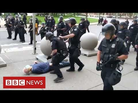 New anger in United States over video of police violence – BBC News