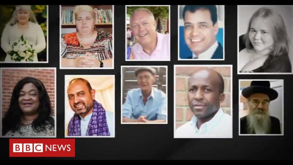 40,000 deaths: UK second only to United States in passing grim milestone – BBC News