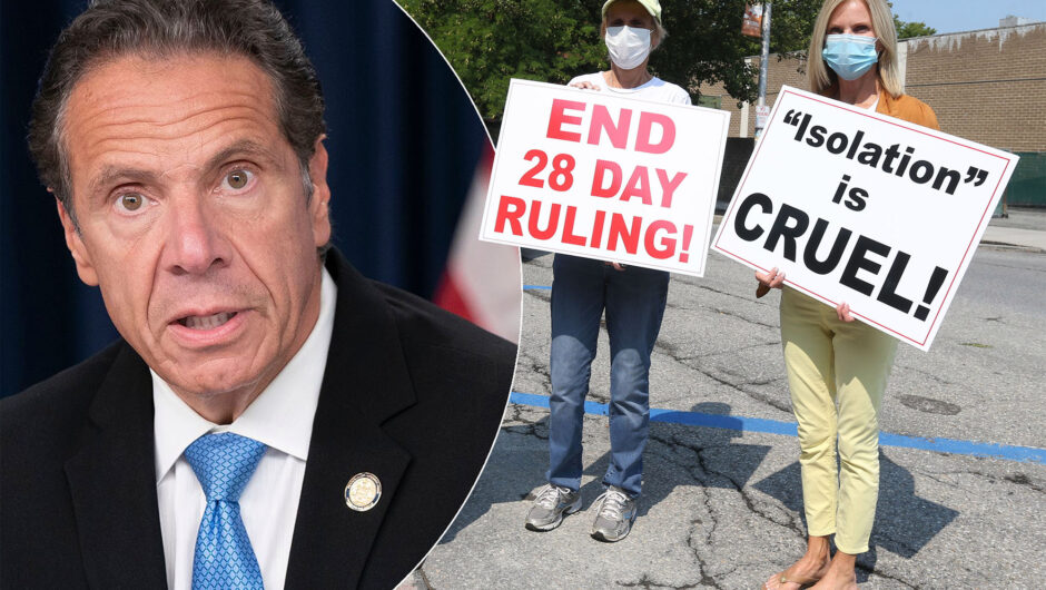Gov. Cuomo relaxes COVID-19 nursing home restrictions amid protests