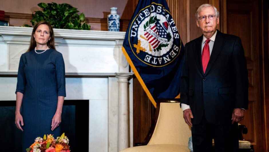 Mitch McConnell takes clear shot at Trump over White House coronavirus outbreak