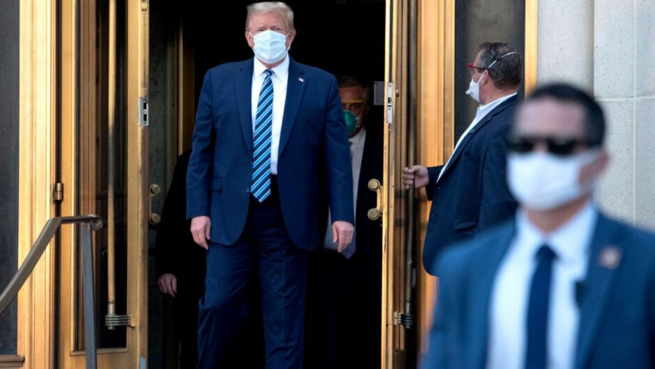 Trump declares he's 'healed' of the coronavirus, bashes DOJ and curses in two-hour interview