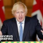 'Not out of the woods', Boris Johnson warns as lockdown eases – Covid-19 Government Briefing 🔴 BBC