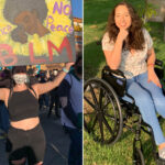 Woman in wheelchair after catching COVID-19 at BLM rally: reports