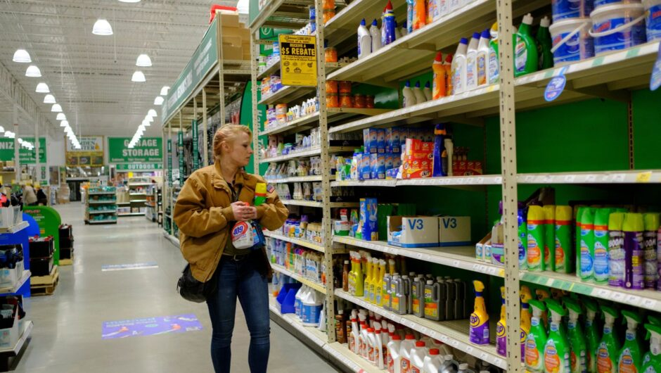 Experts say cleaning surfaces excessively could be overkill for COVID-19, despite a $30 million increase in cleaning product sales