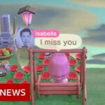 Coronavirus: 'I built a memorial to my grandfather on Animal Crossing' – BBC News