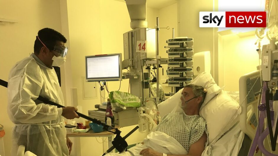 COVID-19: Inside the UK hospitals fighting the second wave