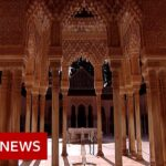 Coronavirus: Spain's Alhambra Palace reopens to visitors – BBC News