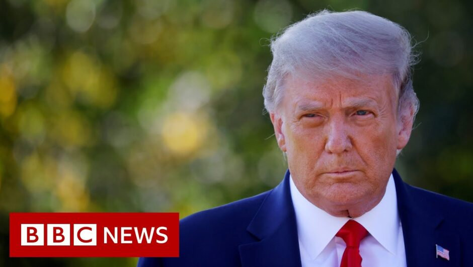 President Trump's seven days before his Covid-positive test – BBC News