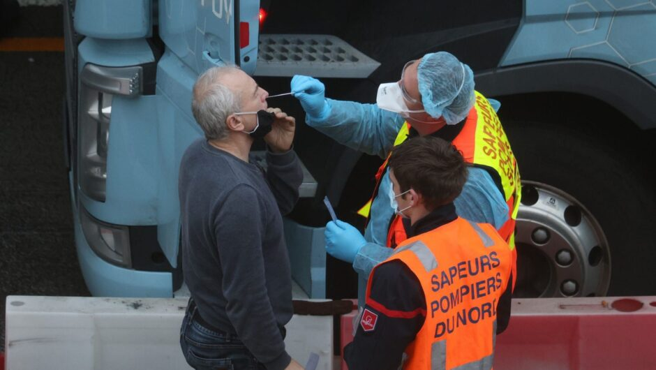Britain is sending 800 military personnel to its border with France as it tries to break the logjam of truck drivers stranded by COVID-19 restrictions