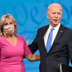 President-elect Joe Biden and incoming first lady Jill Biden will get their first coronavirus vaccine dose on Monday
