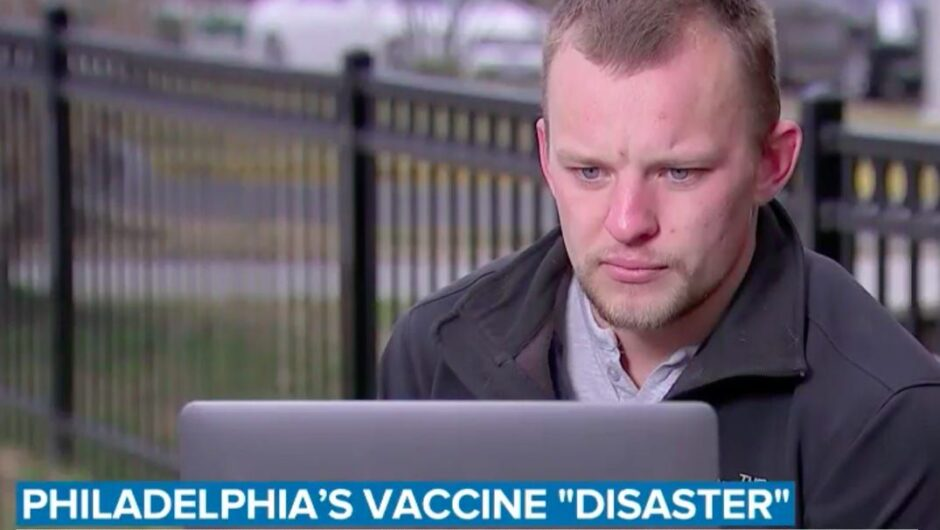 A 22-year-old college student put in charge of Philadelphia's largest COVID-19 vaccination site took doses home to inject his friends