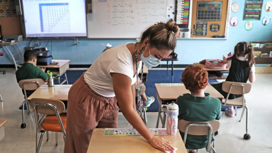 Teachers played an 'important role' in COVID-19 spread at Georgia elementary schools