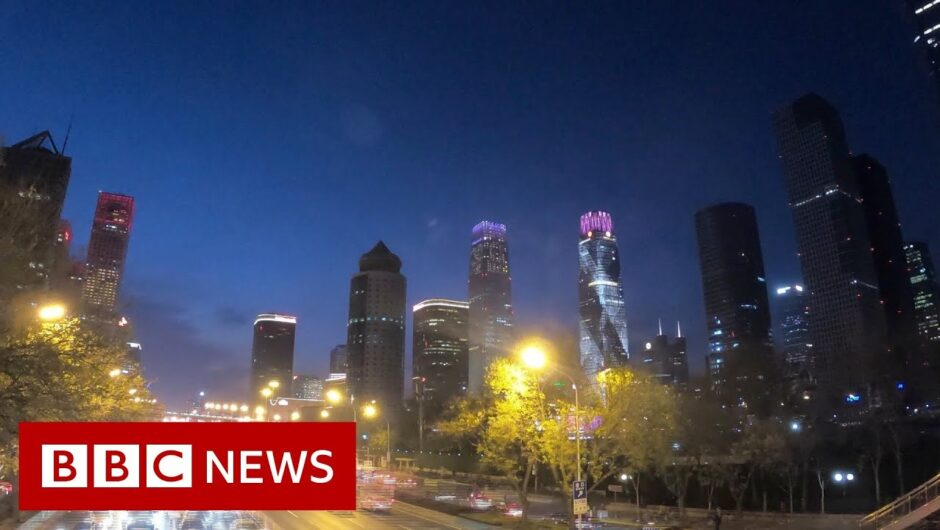 Streets of Beijing back to life after Covid – BBC News