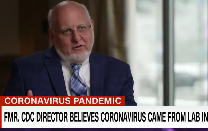 Former CDC director surprises CNN's Sanjay Gupta by revealing he believes COVID-19 originated in a Wuhan lab
