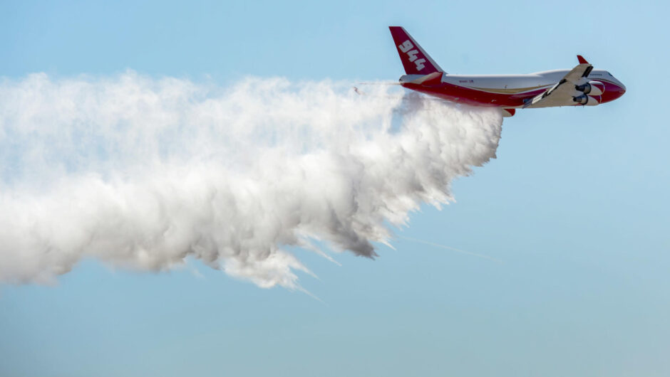 Largest firefighting plane may be sold for COVID-19 response