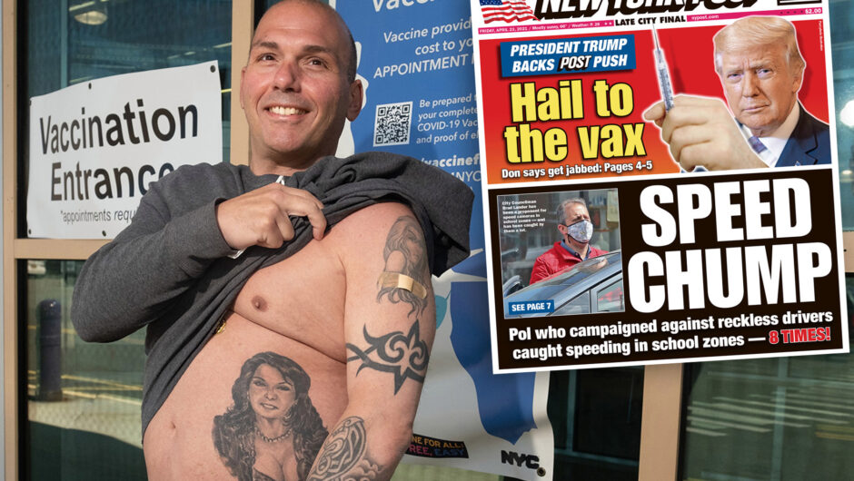 NYC man gets COVID-19 vaccine because Donald Trump said so