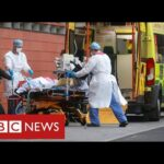 """UK announces record Covid deaths as hospitals """"overwhelmed"""" – BBC News"""