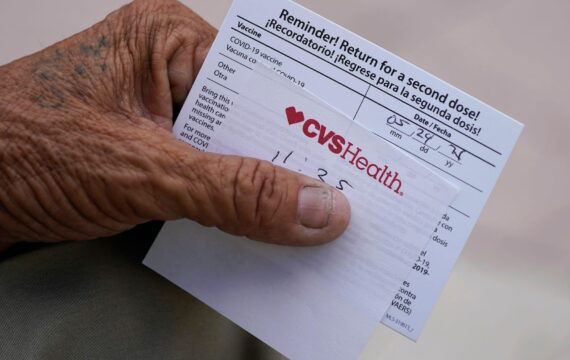 A Long Island CVS employee was arrested after cops found 62 fake COVID-19 vaccination cards in his car