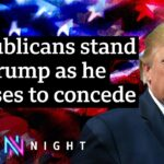 US election: How will protests against a 'stolen election' affect America? – BBC Newsnight