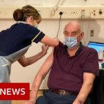 Covid: First Oxford dose given to 82-year-old man – BBC News