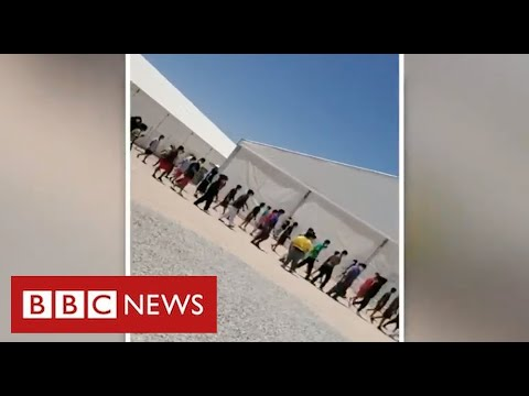 Thousands of migrant children detained in Texas in appalling conditions – BBC News