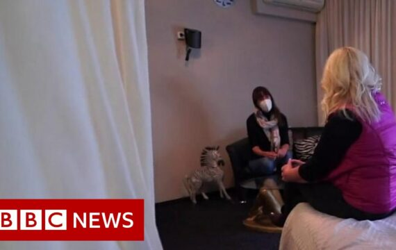 Sex workers in Germany 'at risk' due to Covid restrictions – BBC News