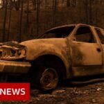 Deadly wildfires rage up and down US West Coast – BBC News