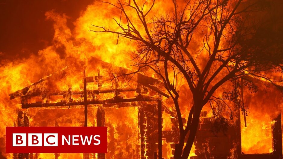 California wildfires: This is how mind-bogglingly huge they are – BBC News