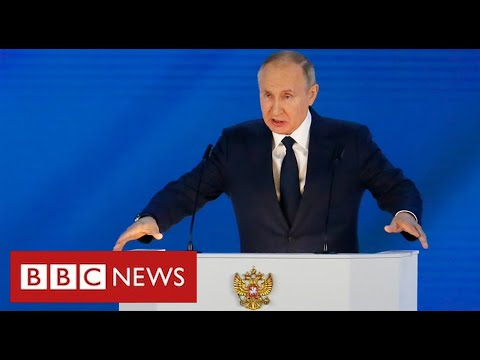"""Putin warns West of """"rapid and harsh"""" response from Russia if it crosses """"red lines"""" – BBC News"""
