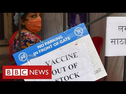 """India """"running out of vaccines"""" as Covid crisis deepens – BBC News"""